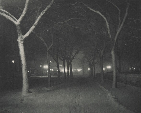 Icy Night (featured in ad for Goerz lenses)