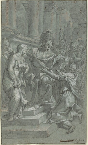 Scipio Restoring His Captive to Her Lover