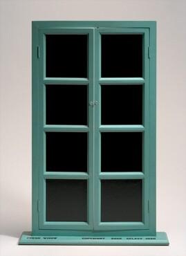 Marcel Duchamp, Fresh Widow, original 1920, fabricated 1964