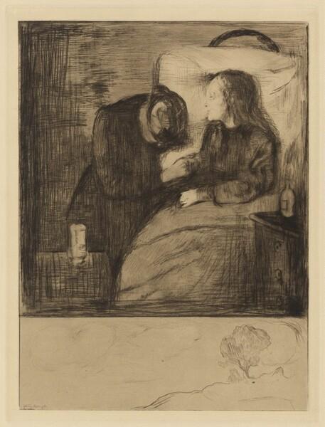 The Sick Child (Das kranke Madchen)
