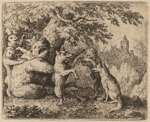 The Bear and the Wolf are Persecuted