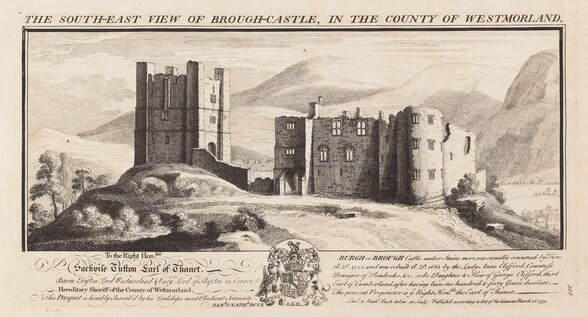 The South-East View of Wardour Castle, in the County of Wilts