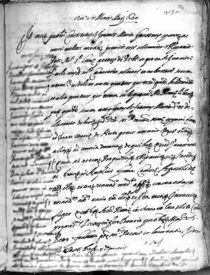 ASR, TNC, uff. 11, 1600, pt. 2, vol. 46, fol. 430r