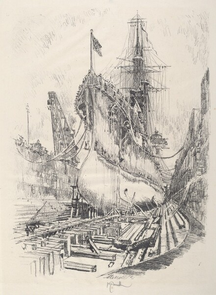 In the Dry Dock
