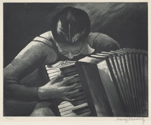Untitled (Accordian Player)