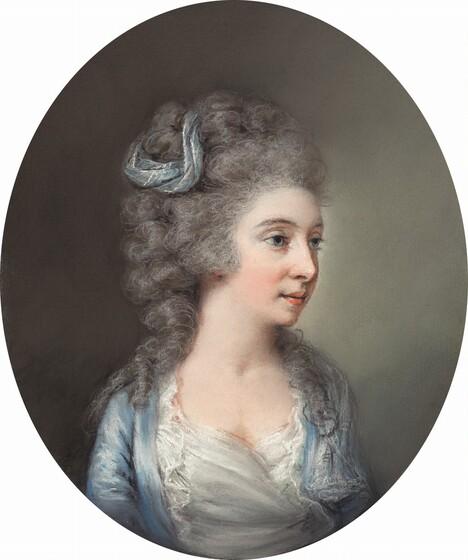 Anna Nistri Tonelli, after Adam Buck (?), Charlotte Sneyd, c. 1790