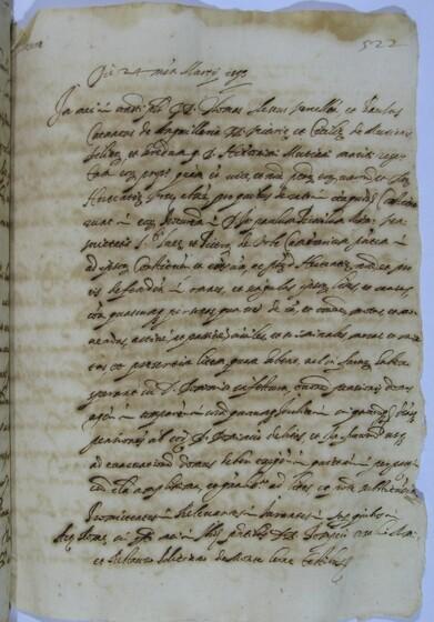ASR, TNC, uff. 11, 1593, pt. 1, vol. 25, fol. 522r