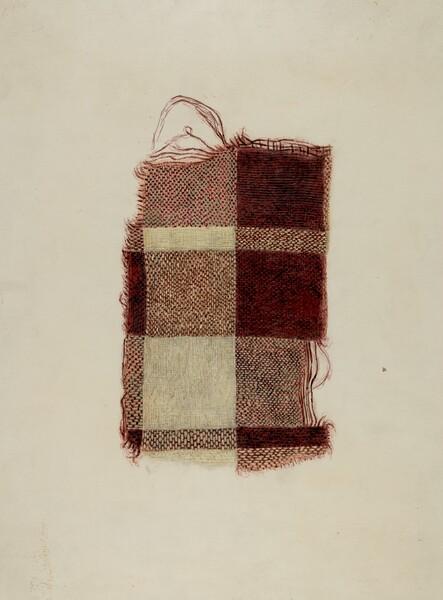 Piece of Homespun Wool