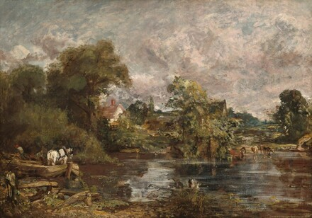 John Constable, The White Horse, 1818-1819