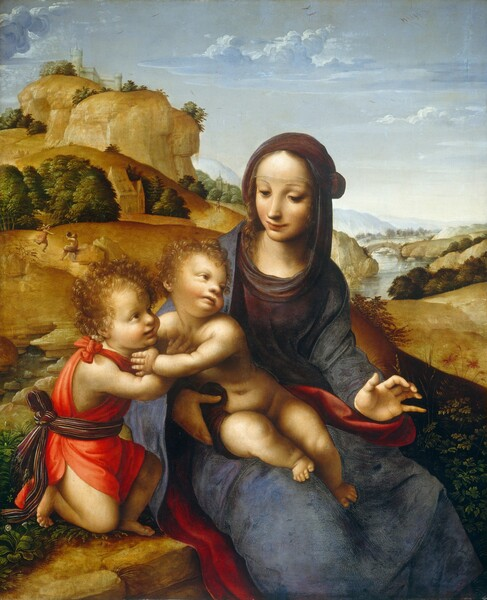 Madonna and Child with the Infant Saint John