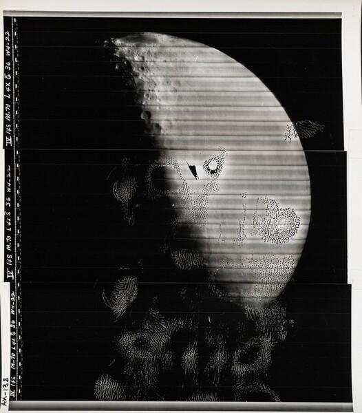 Lunar Orbiter, Medium Resolution, LOIV M-070