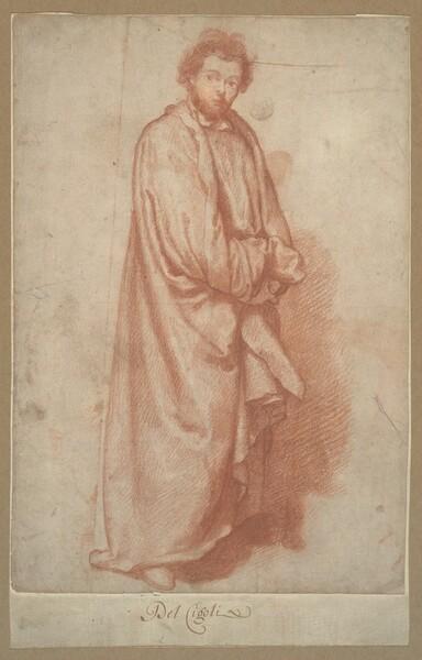 A Standing Bearded Man