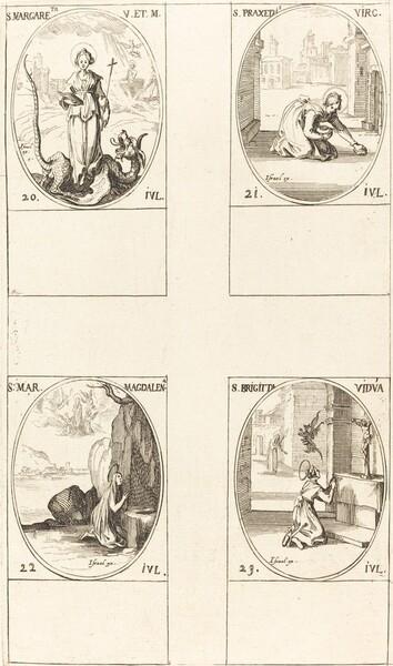 St. Margaret of Antioch; St. Praxedes; St. Mary Magdalene; St. Bridget of Sweden