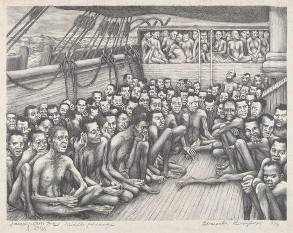 Immigration #2, Middle Passage