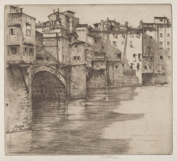 Ponte Vecchio - Morning - Florence