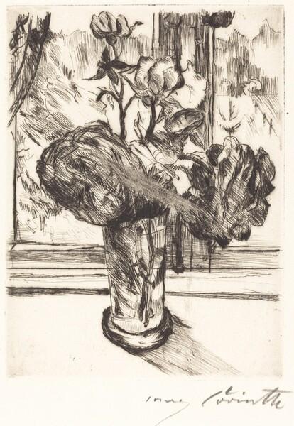 Rosen in einem Wasserglas (Roses in a Glass of Water)