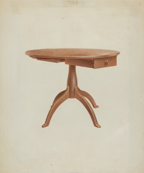 Shaker Round Table