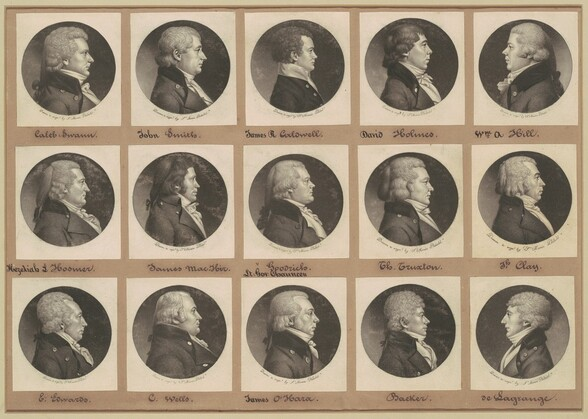 Saint-Mémin Collection of Portraits, Group 13