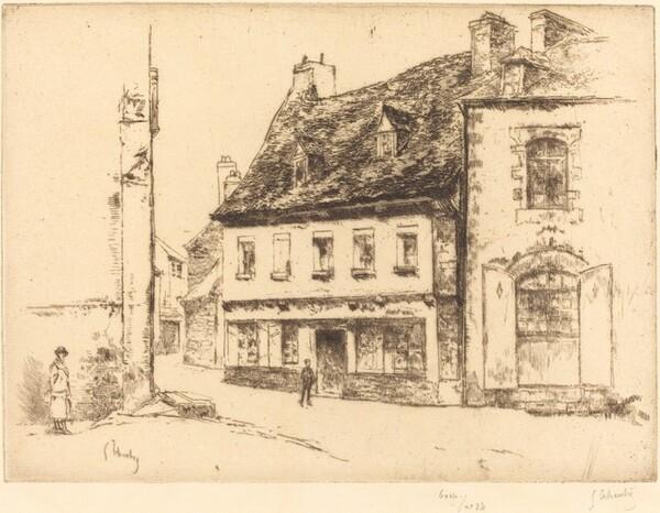 La Maison rouge en Pontrieux