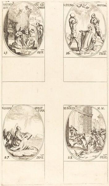 The Nativity; St. Stephen; St. John; Holy Innocents