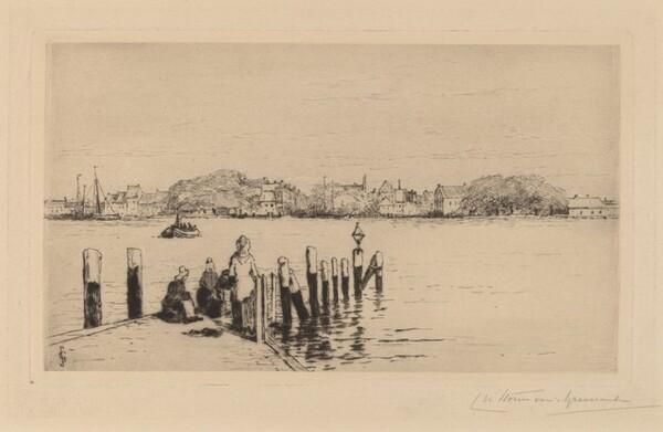 The Ferry at Dordrecht