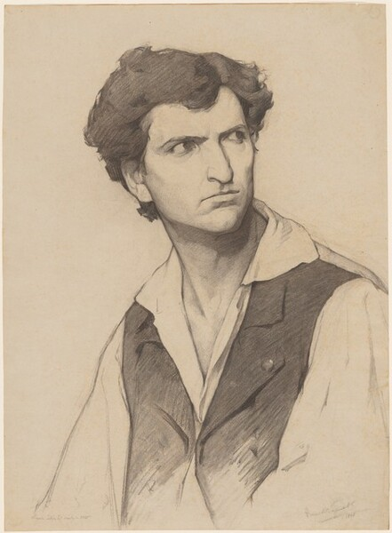 Portrait of a Man, Turned Right