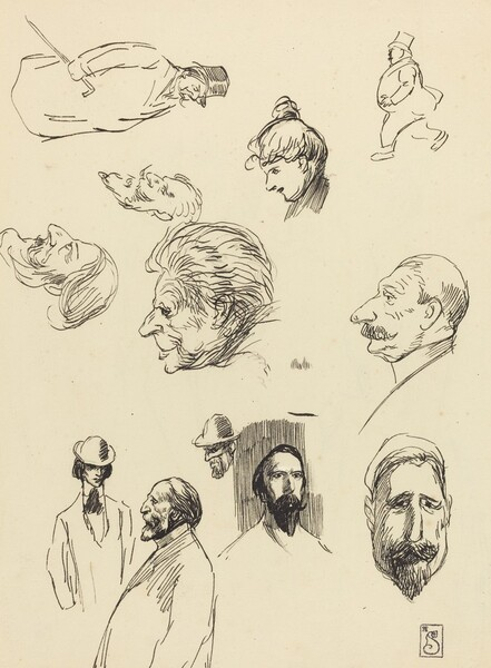 Studies of Figures and Heads