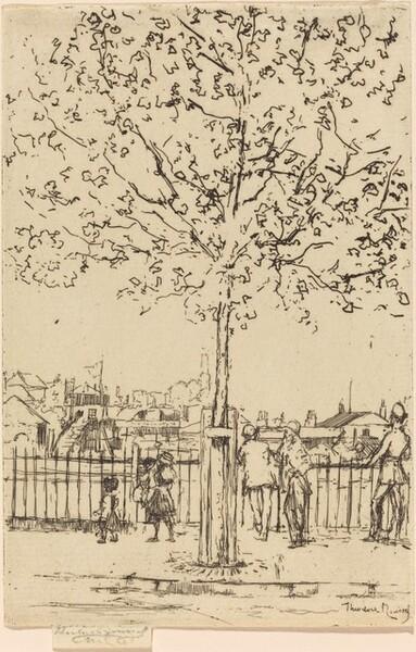 Chelsea Embankment, June 1889
