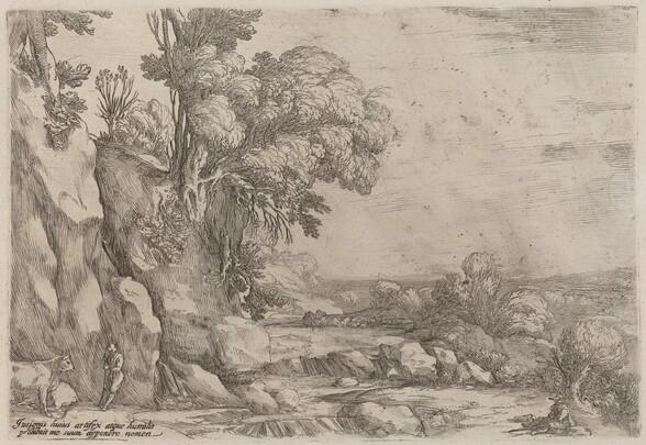 Landscape with Resting Herdsmen