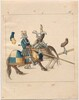 Freydal, The Book of Jousts and Tournament of Emperor Maximilian I: Combats on Horseback (Jousts)(Volume II): Plate 84