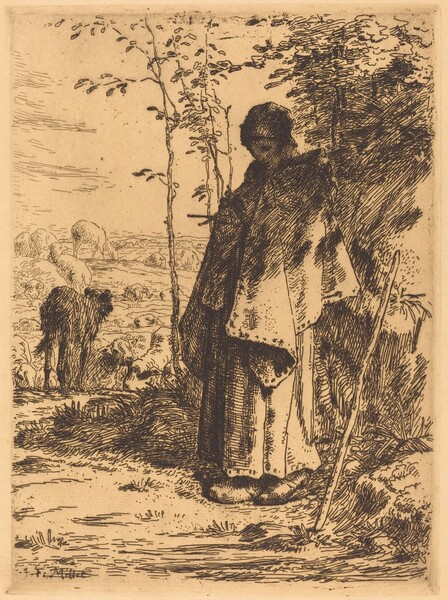 The Large Shepherdess (La grande bergere)