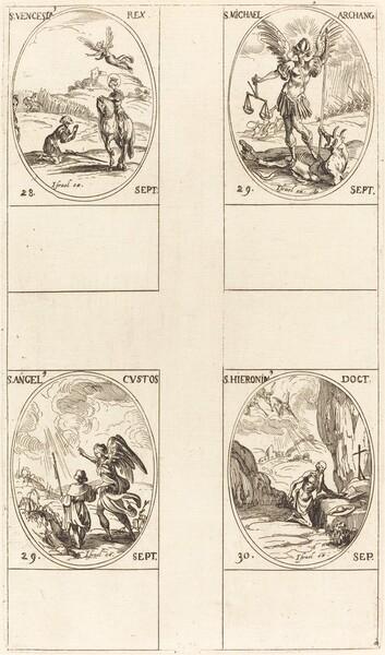 St. Wenceslas; St. Michael, Archangel; The Guardian Angel; St. Jerome