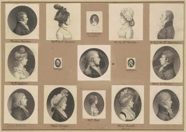 Saint-Mémin Collection of Portraits, Group 50