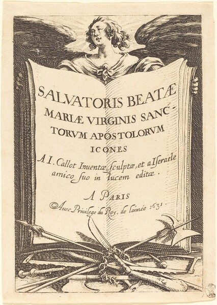 Frontispiece for The Large Apostles
