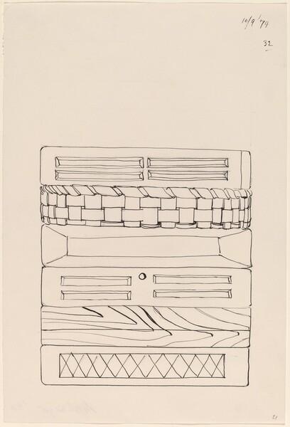 Basket, Table, Door, Window, Mirror, Rug #32