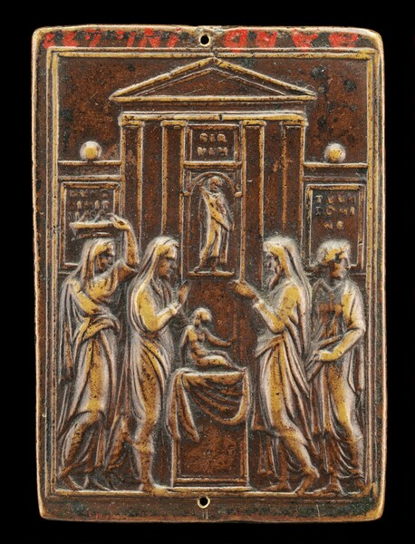 Presentation of Christ in the Temple [reverse]