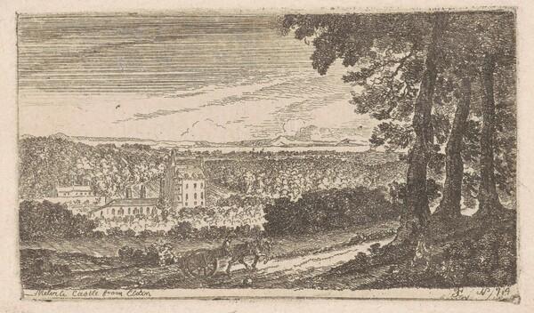Melville Castle from Eldin