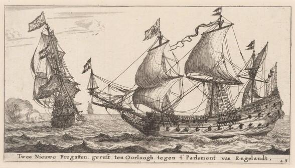 Two Dutch Frigates