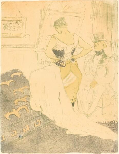 Woman in Corset (Femme en corset)