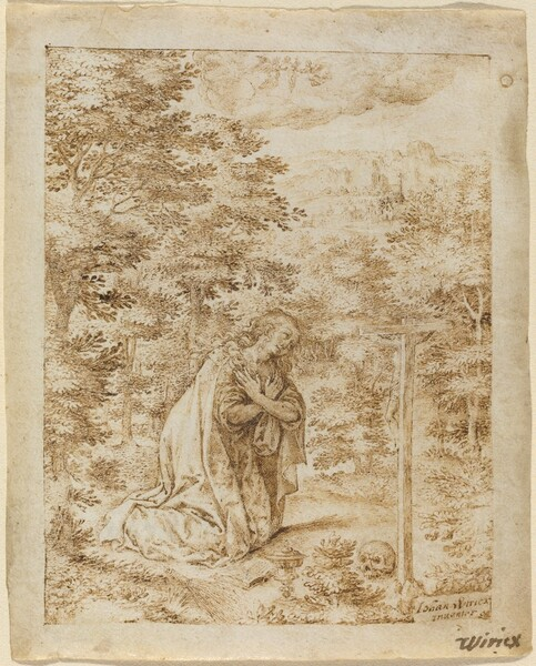 Mary Magdalene Praying in the Wilderness