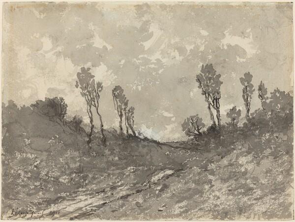 Road at Hérisson