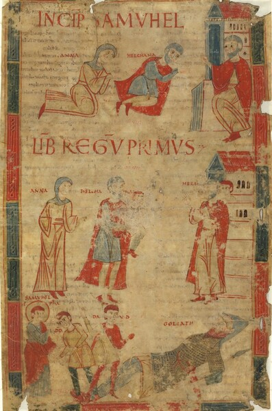 Four Scenes from the First Book of Samuel
