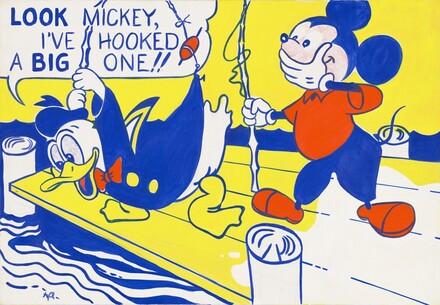 Roy Lichtenstein, Look Mickey, 19611961