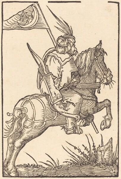 A Turkish Horseman