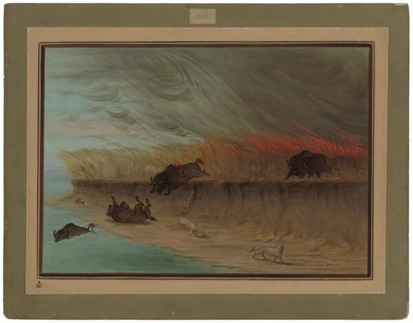 Prairie Meadows Burning