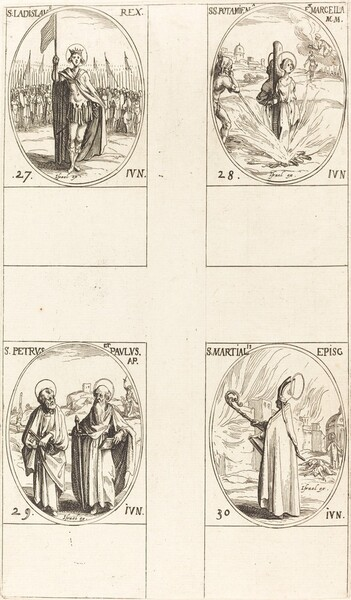 St. Ladislas; Sts. Potamiana and Marcella; Sts. Peter and Paul, Apostles; St. Martial