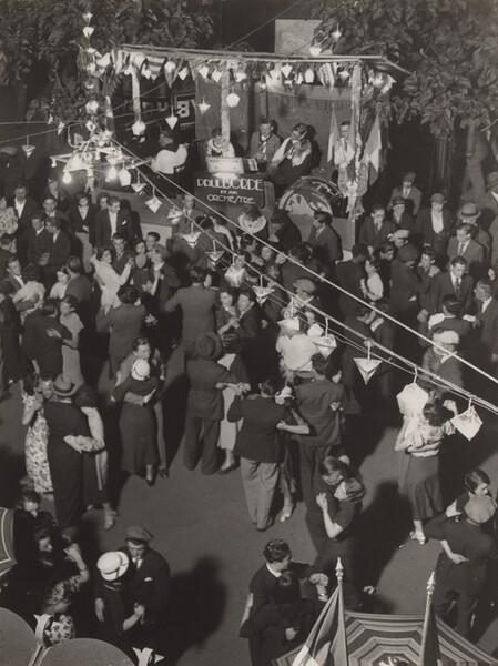 Fête populaire à Nice