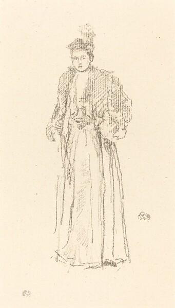 Portrait Study: Miss Charlotte R. Williams