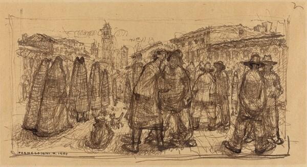 Street Scene, Venice