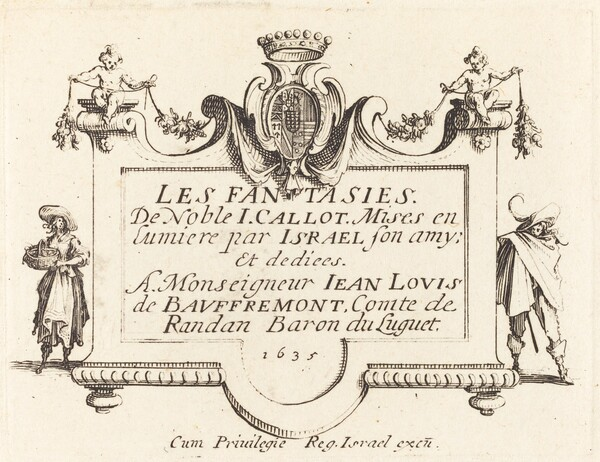 Title Page for The Fantasies